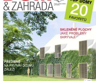 Dům a zahrada 10/2014 - Rodinný dům v Hamrech, prezentace v mladé architektuře! 08/2014, CZ