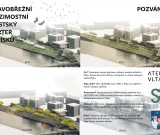 Veřejná prezentace - pravobřežní mezimostní městský parter v Písku, Písek, 09/2014, CZ