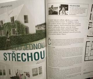 Atelier Vltava in the magazine House and gardens EN / Dům a zahrada CZ, 11-12/2014, CZ