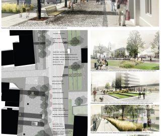 Architectural competetion Plana nad Luznici 01/2014, CZ - 1.prize for Atelier Vltava Ltd.!