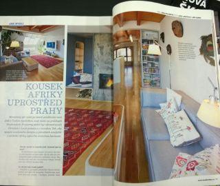 Atelier Vltava v časopisu Moderní byt 12/2014, CZ