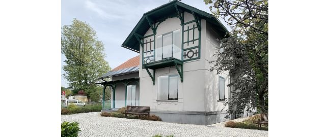 Reconstruction, renovation of the villa in Králíky, Dolní Morava, 2019-2020, CZ
