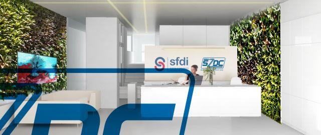 Atelier Vltava vyhrál otevřenou archit. soutěž na přestavbu kancelářského objektu Stát. fondu doprav. infrastruktury v Praze, 08/2017, CZ