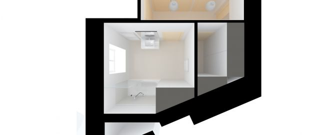 Design studioproject for appartment 2+KK in Milady Horakové, CZ